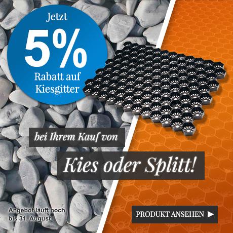 Kiesgitter Kombi-Rabatt 5%