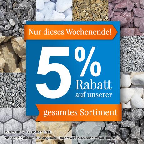 5% Rabatt Gesamtsortiment