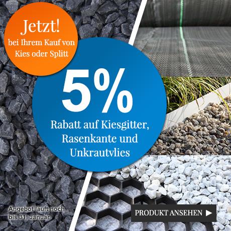Kiesgitter / Rasenkante Combi-Rabatt 5%