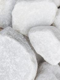 Marmor Weiß Bruchsteine 40 - 80mm (4 - 8cm)