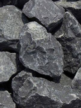 Basalt Bruchsteine 50-80mm (5 - 8cm)