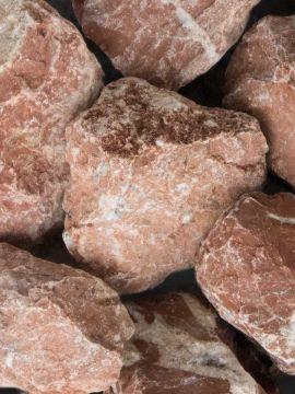 Marmor Rot Bruchsteine 40 - 80mm