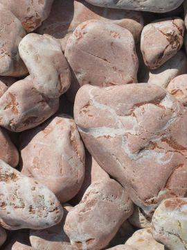 Marmor Rot Kies Gabionensteine 40 - 80mm
