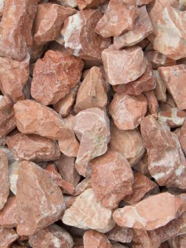 Marmor Splitt Rot 18 - 25mm