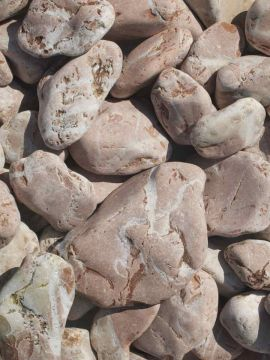 Marmor Rot Kies Gabionensteine 40-60mm
