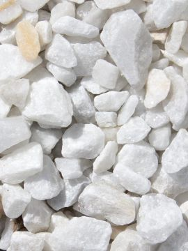 Marmorsplitt weiß 1-3mm