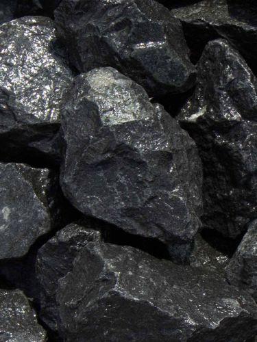 Basalt Bruchsteine 50 - 80mm naß