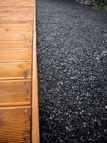 Basaltt Splitt (verlegt)