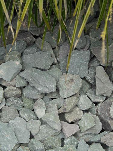 Canadian Slate grün 30 - 60mm (3 - 6cm) verlegt