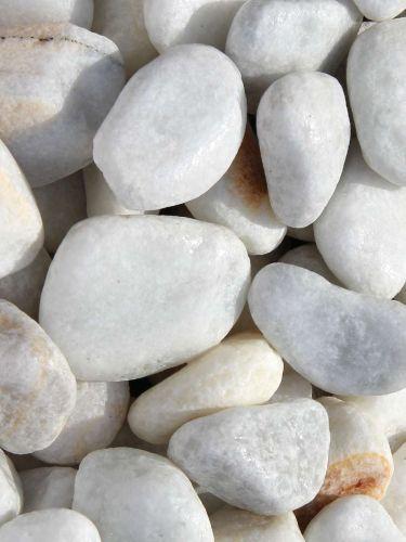 Marmorkies weiß 25 - 40mm naß