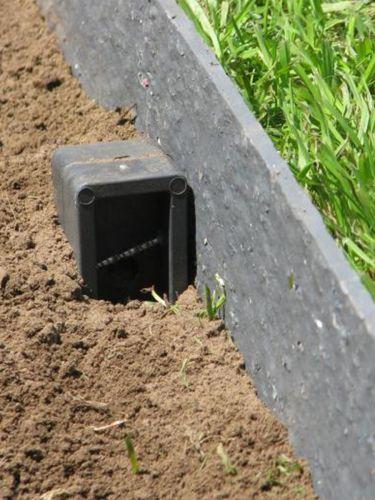 Ecolat verlegung mit Ecopic Pfähle