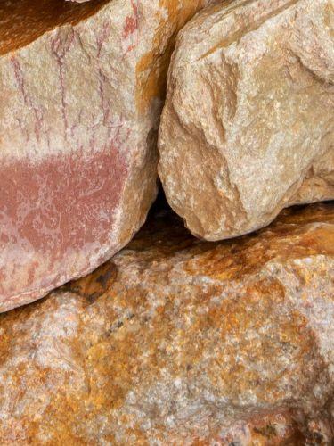 Grauwacke Bruchsteine 80 - 120mm (nass)