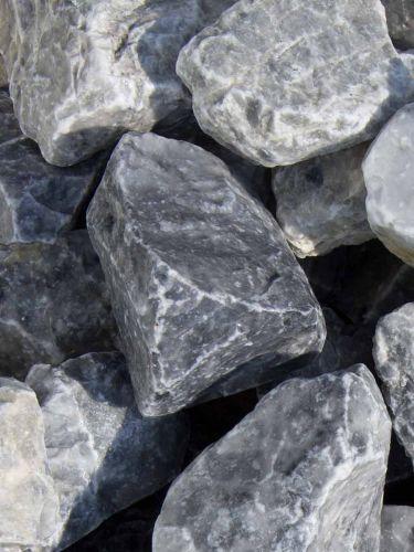 Ice Blue Bruchsteine 40-60mm nass