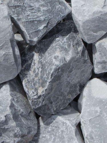 Ice Blue Bruchsteine 60-120mm naß