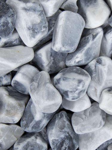 Ice Blue Kies 25 - 40mm naß