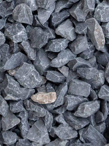 Kalkstein Splitt Anthrazitgrau 14 - 20mm