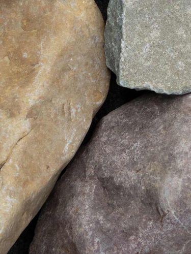 Rheinkies Gabionensteine bunt 80 - 200mm (8 - 20cm)