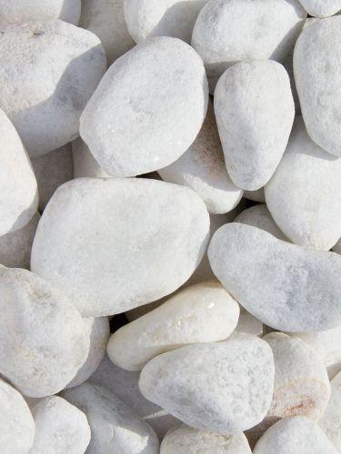 Marmor Kies weiß 25-40mm