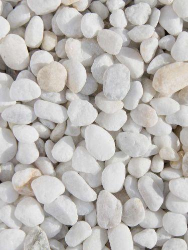 Marmor Kies weiß 8-16mm