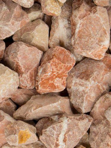 Marmor Splitt Rot 25 - 40mm
