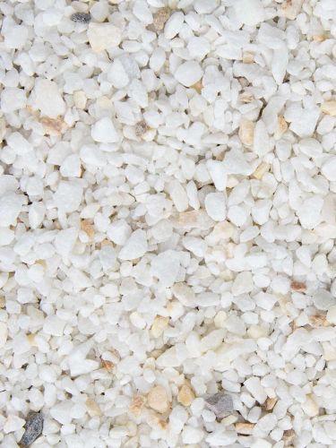 Fugensplitt Weiß Marmor 5 - 8mm