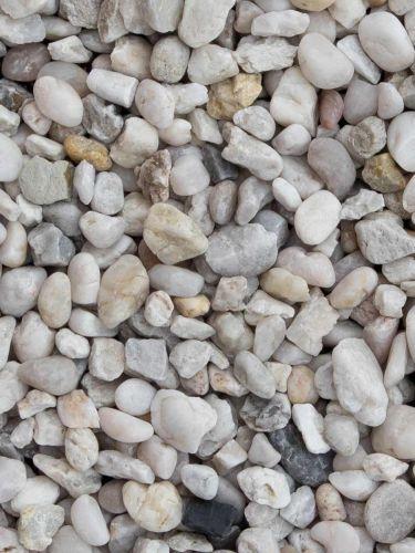 Quarzkies Weiß 8 - 12mm