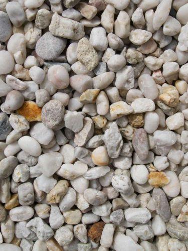Quarzkies Weiß 8 - 16mm