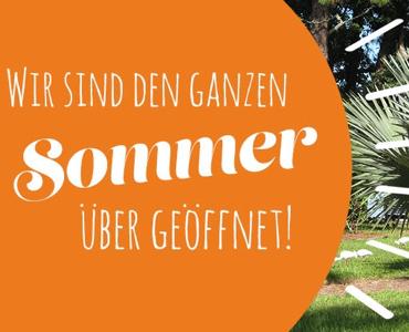 Garten verschönern während der Sommerferien? Wir sind geöffnet!