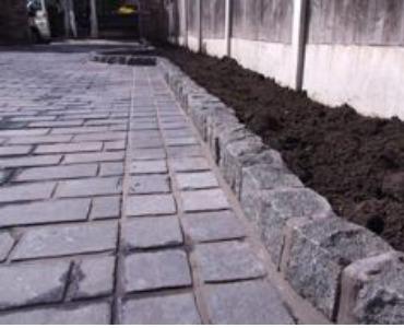 Natursteinpflaster; nicht nur für Terrasse oder Einfahrt