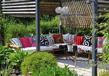 Outdoor living Sitzbereich