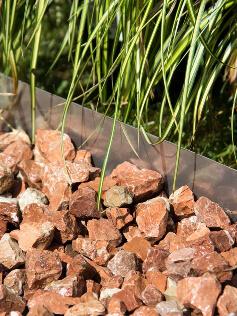 Rasenkante Multi-Edge Metal Edelstahl - 316 verlegt