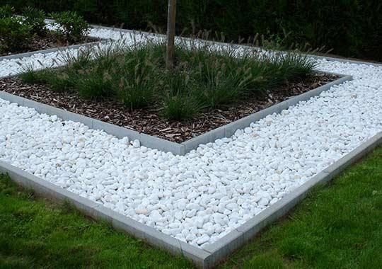 symmetrische Garten